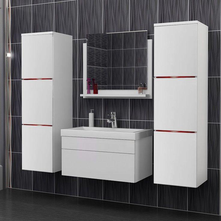 10 best Meubles de salle de bain design et modernes images on - Salle De Bain Moderne Grise