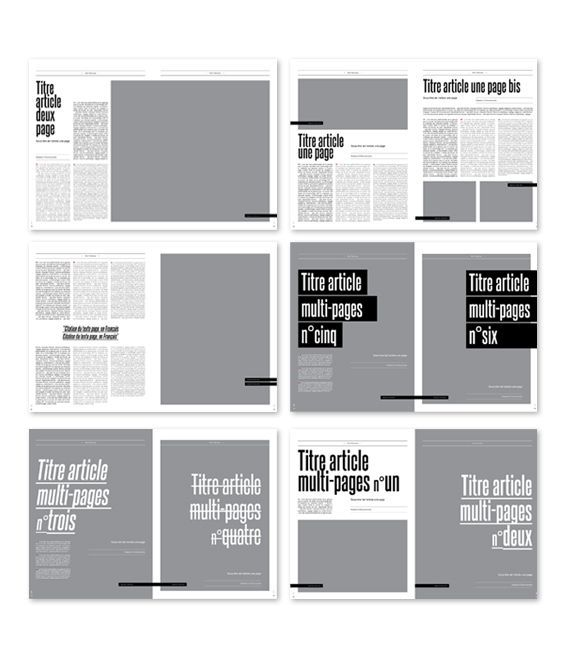 Magazine Layout by Margarita Bernal