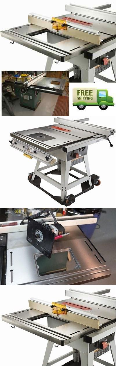 Router Tables 75680: Router Table Extension Cast Iron Top Plate Work Shop Bench Wood Working Fence Xl -> BUY IT NOW ONLY: $439 on eBay!