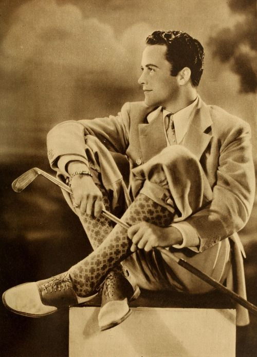 """Charles """"Buddy"""" Rogers photographed by Eugene Robert Richee in The New Movie, August 1930."""