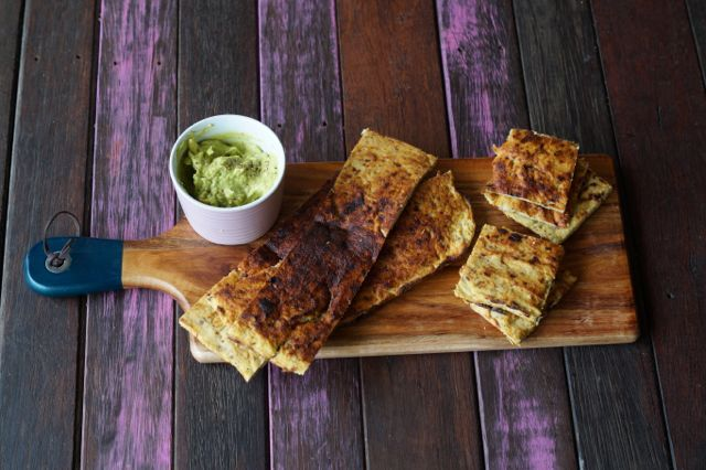 Cauliflower Pita Bread Recipe. via @themmsisters