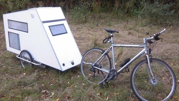 168 best bicycle campers images on pinterest bicycle. Black Bedroom Furniture Sets. Home Design Ideas