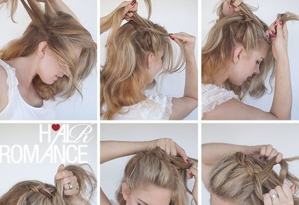 How to : Crown Braid Hairstyle