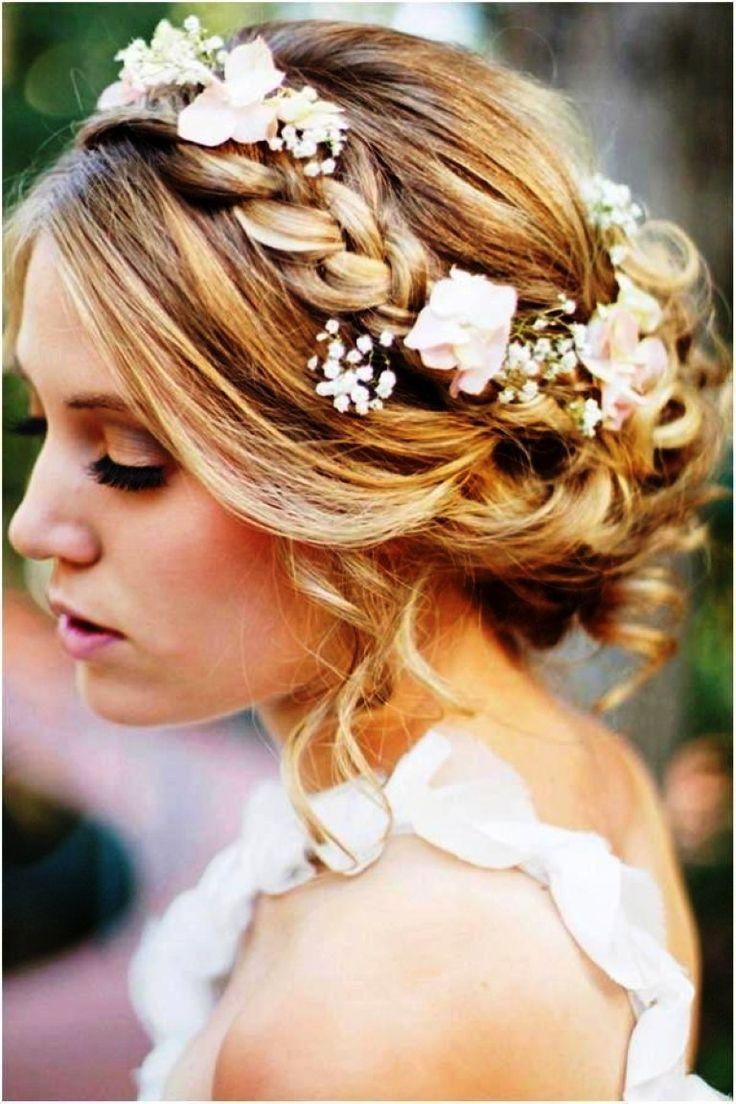 Surprising 1000 Ideas About Medium Wedding Hair On Pinterest Half Up Short Hairstyles Gunalazisus