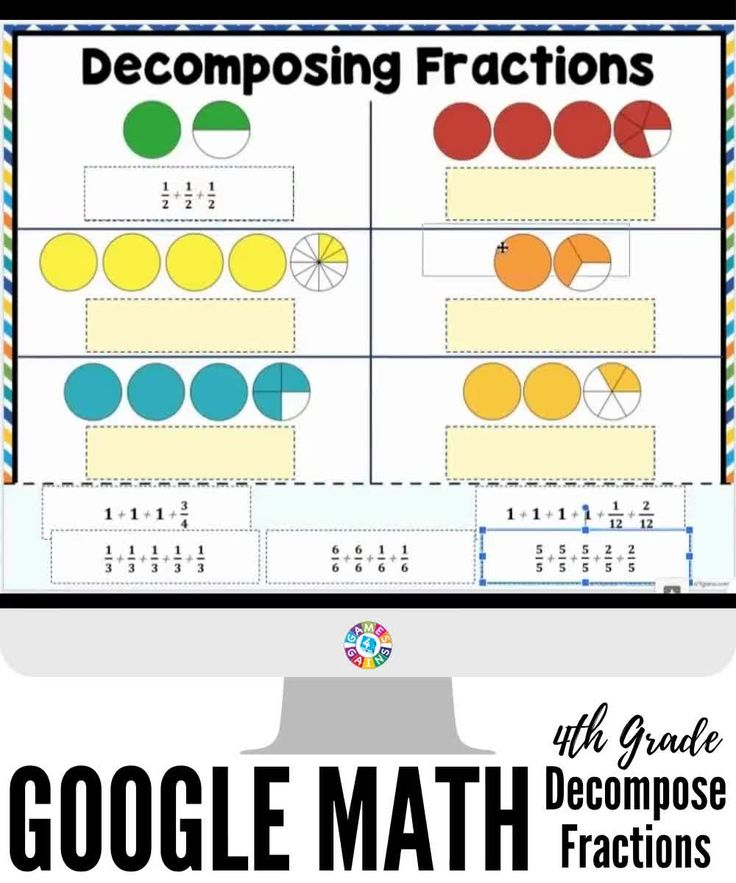 4th grade fractions 4nf3 4nf3b google