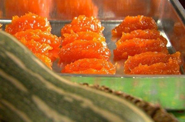 Doce de abóbora é uma das tradições de Tatuí (Foto: Reprodução/TV TEM)