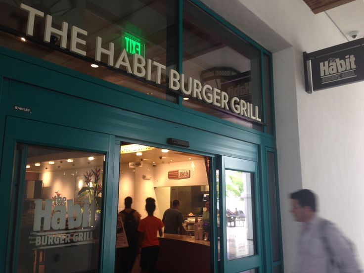 The Habit is located in the Aztec Student Union. It has award-winning burgers and delicious fries!