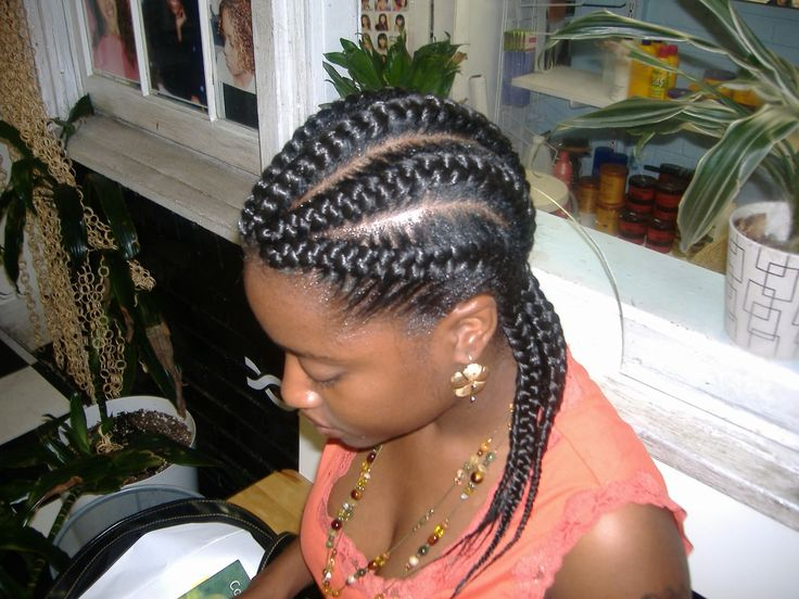 Cornrows are such an easy protective style and the bigger the better. Here are 19 more dope big cornrow styles to swoon over.