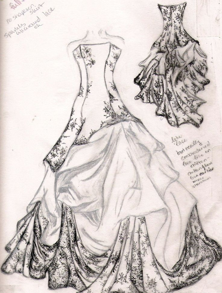 dress sketches for fashion designing - Google Search