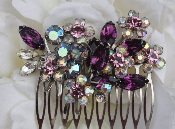 purple wedding jewelry WANT