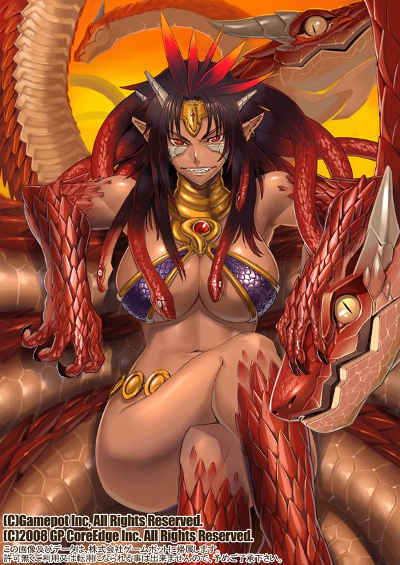 Evil dragon girl anime in 2019 pinterest monster - Dbz fantasy anime ...