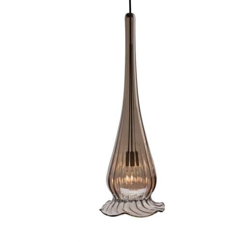 WAC Lighting G943 Replacement Glass Shade for 943 Pendant from the Lucia Collection (Goldtone Finish)