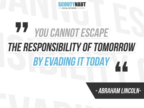 We support people in need. This social responsibility is in our slogan SCOUTYNAUT – THE SOCIAL NETWORK COMPANY