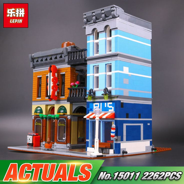 LEPIN Detective's Office (Knockoff LEGO) 2263 pcs Dream City 2/5