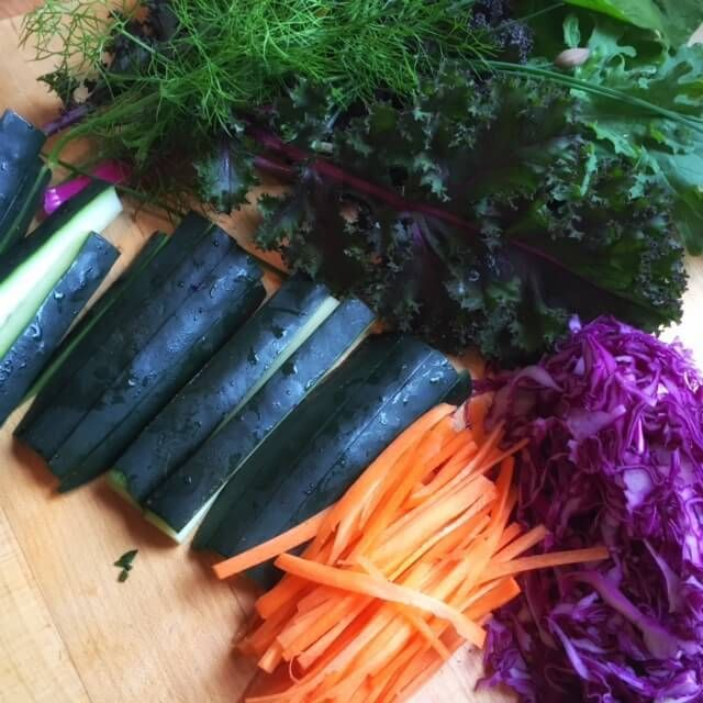 How to make absolutely incredible, seriously simple, and unbelievable healthy vegetarian nori sushi rolls   Tasting Everything http://tastingeverything.com