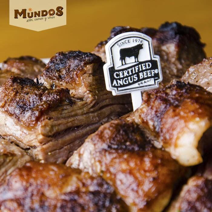 Alrededor de una #PicanhaMundos se cuentan las mejores historias, se comparte con amigos o simplemente se disfruta la mejor carne del Mundo #CertifiedAngusBeef #MundosRestaurante. Única con el proceso #DryEdge
