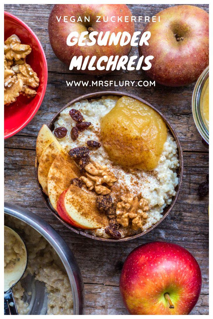 Gesunder Milchreis mit Quinoa vegan #gesund #frühstück #vegan #milchreis #einf …   – Beste Gesunde Rezepte – Gruppenboard