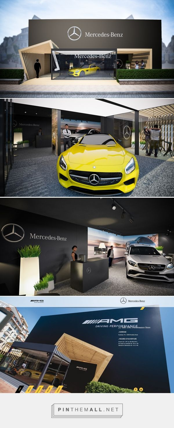 Mercedes-Benz AMG Summer Pop-Up Store @ Knokke on Behance - created on 2016-04-08 17:42:53