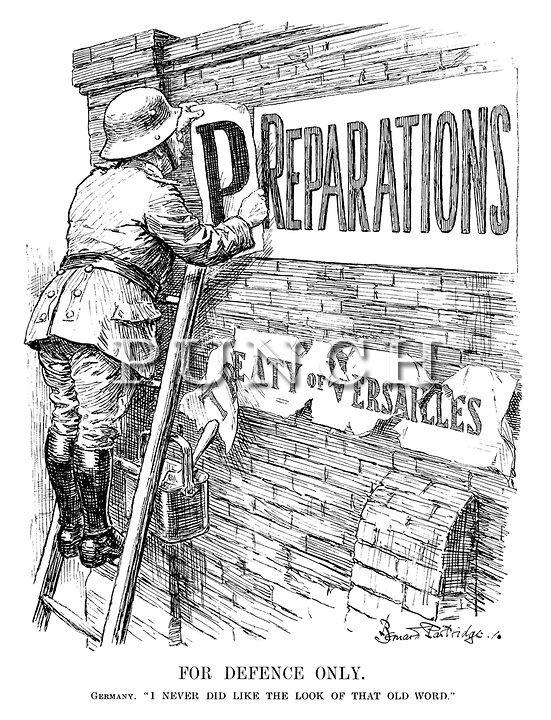 Reparations WW1 Clip Art