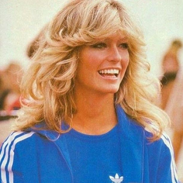 Farrah Fawcett - This iconic feathered look had women with all hair types reaching for their blowdryers in the 70's.Photo: @dugacsek
