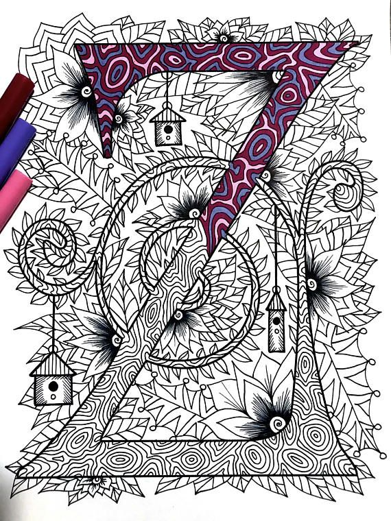 47 best Alphabet - Colouring Pages images on Pinterest | Coloured ...
