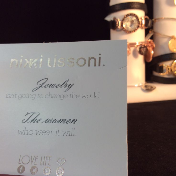 We love Nikki Lissoni