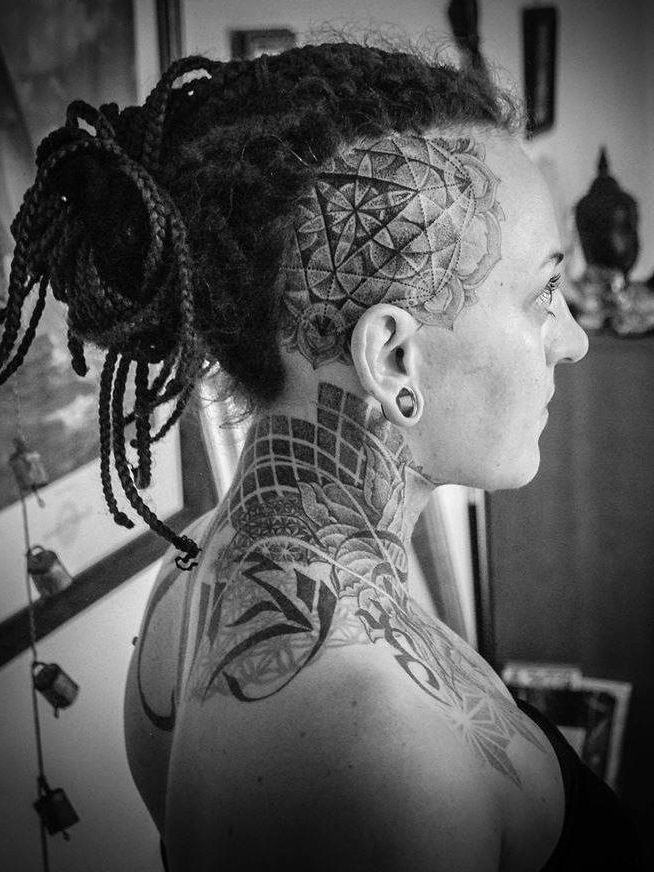 63 Best Images About Head Tattoo On Pinterest