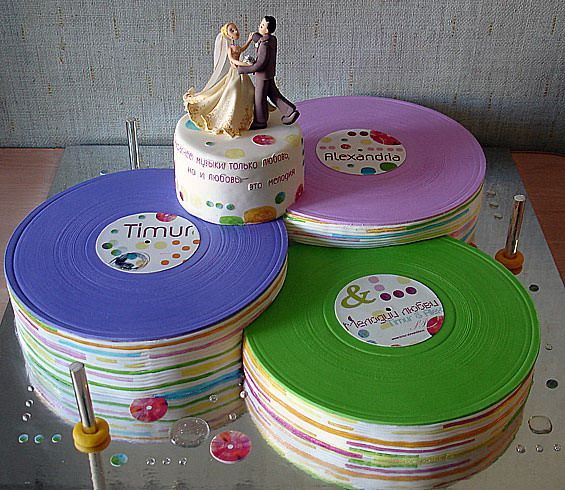 record wedding cake
