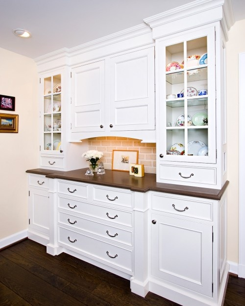 Built In Kitchen Pantry Ideas: 25+ Best Ideas About Built In Hutch On Pinterest