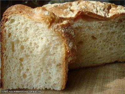 Кружевной хлеб на закваске