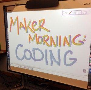 Maker Morning: Coding | Miss Meg's Storytime