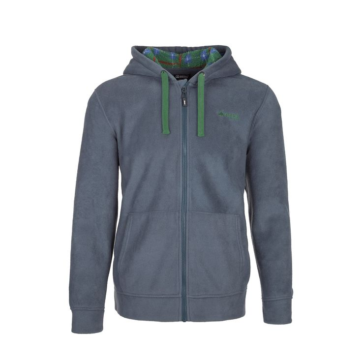 Casual and versatile polar fleece hooded jacket with anti-pilling treatment to beat the cold on a daily basis.