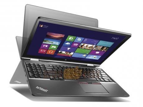 Ноутбук-трансформер Lenovo ThinkPad Yoga 15 Core i7 5500U (16Gb/1Tb/SSD16Gb/nVidia GeForce 840M 2Gb/15.6), черный