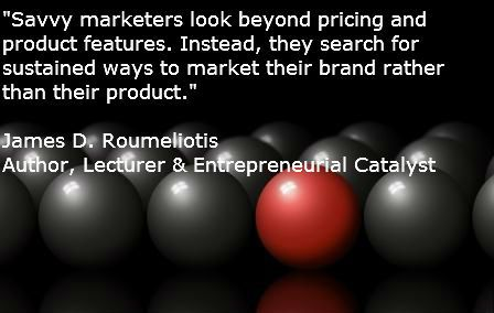 My quote about pricing and differentiation.