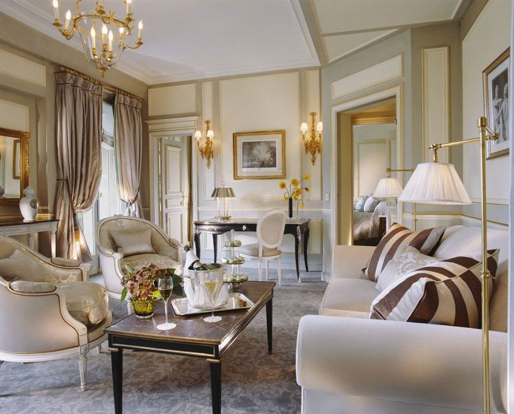 The Chic Style Of French Interior Design. French Country Living RoomFrench  ... Part 62
