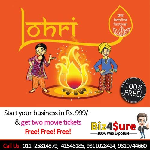 Wish You Very #Happy #Lohri and #Makar #Sankranti!!! is one of the important #festival of Indian #people specially for #Punjab. -> #Online #Marketplace in Karol Bagh #Delhi #NCR #India -> Create #Free #Website Services -> #Business Listing #Services -> #Grow Your Business With US    +91-1125814379   +91-11-41548185   +91-11-45528185   +91-9811028424