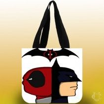 #Batman #vs #Deadpool #Tote #Bags #bags #adds #more #perfect #and #beautiful #appearanc