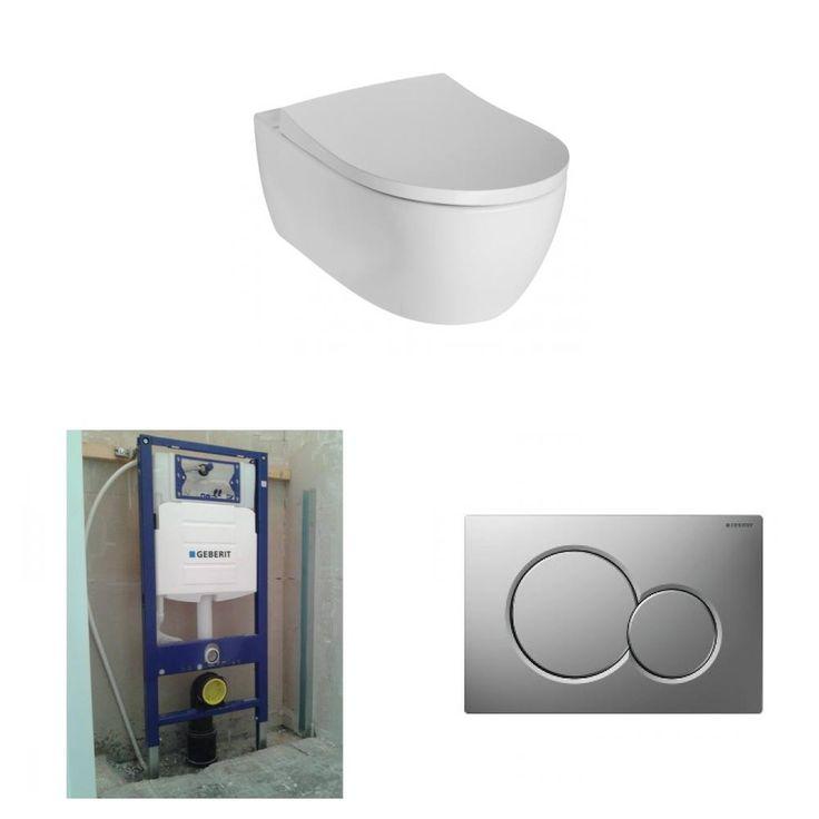 Sphinx 345 toiletset compleet: ook Rimfree of Compact!