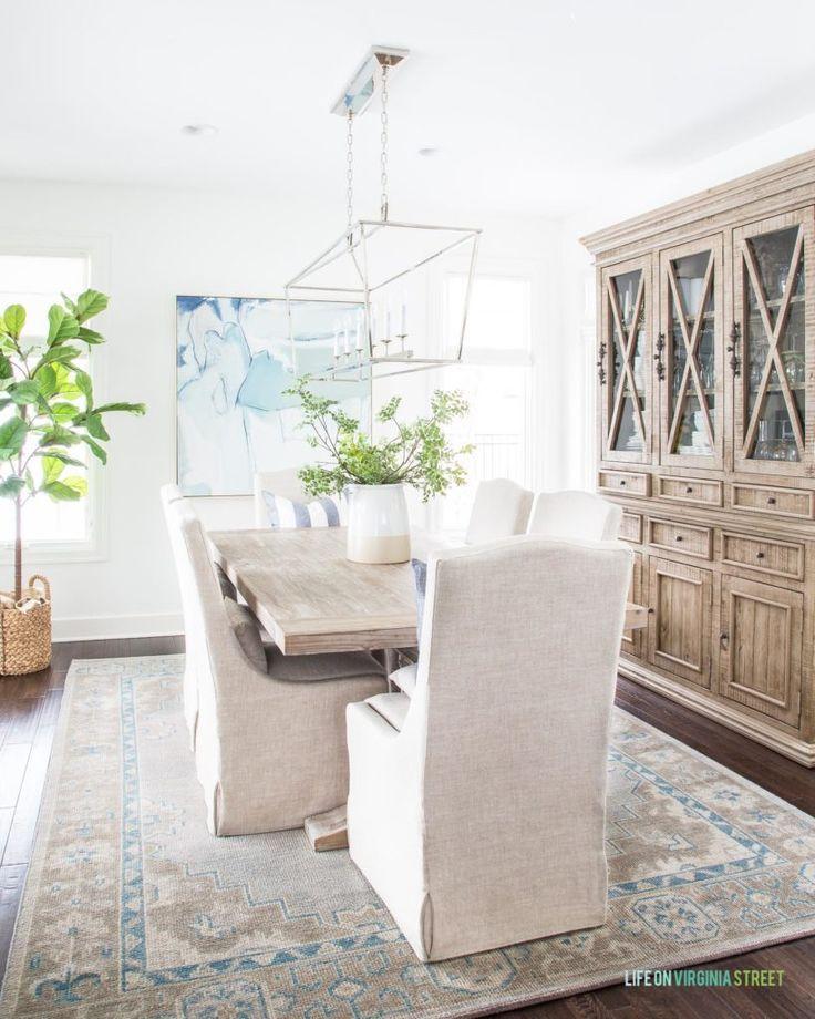 Diy Dining Room Storage Ideas: Weekend Recap & Simple Winter Decor Updates