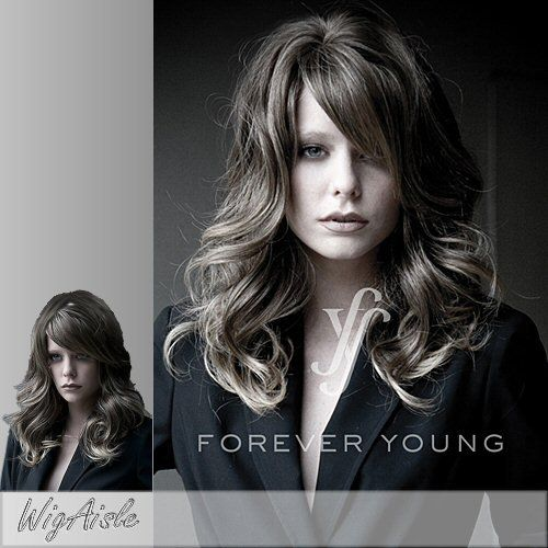 Glow Girl Forever Young Synthetic Full Wig In 27c29 Click Image