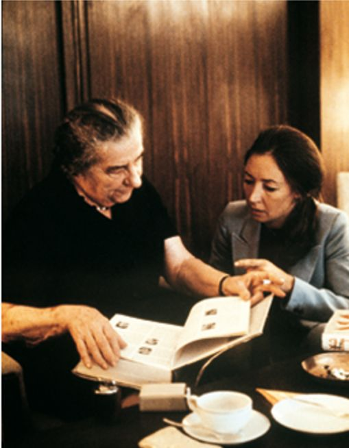 L'intervista a Golda Meir del 1972 - Foto - Oriana Fallaci