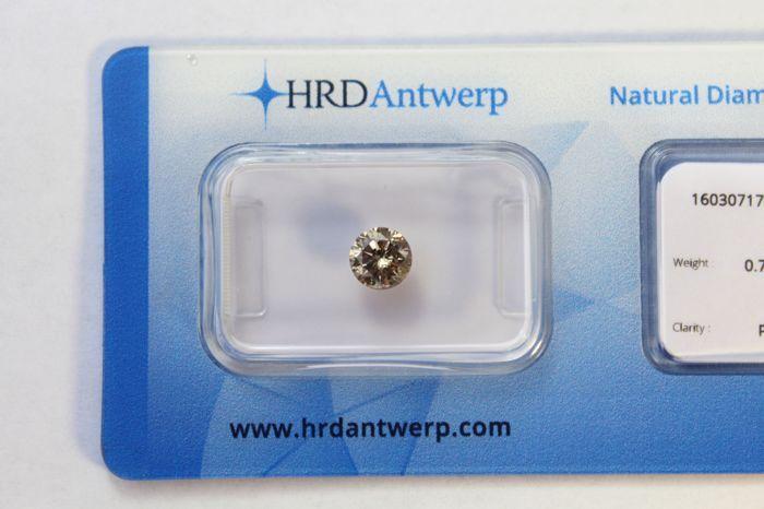 Mooie kleur paars Greyish briljant cut diamant. 075 ct. natuurlijke kleur  Zeer zeldzame kleur paarse diamant.Shape ronde Brilliant cutGewicht 075 ctNatuurlijke grijsachtige kleur paarsAfmetingen 5.64x5.68x3.62mmOriginele HRD sortering verslag 16030717002 opgenomen.Diamant is oorspronkelijk door HRD verzegeld.Verzending binnen 3 dagen na ontvangst van de betalingsbevestiging.Paarse gekleurde diamanten zijn tweede zeldzaamste na rode diamanten.Pure investeringen diamant.  EUR 4.00  Meer…