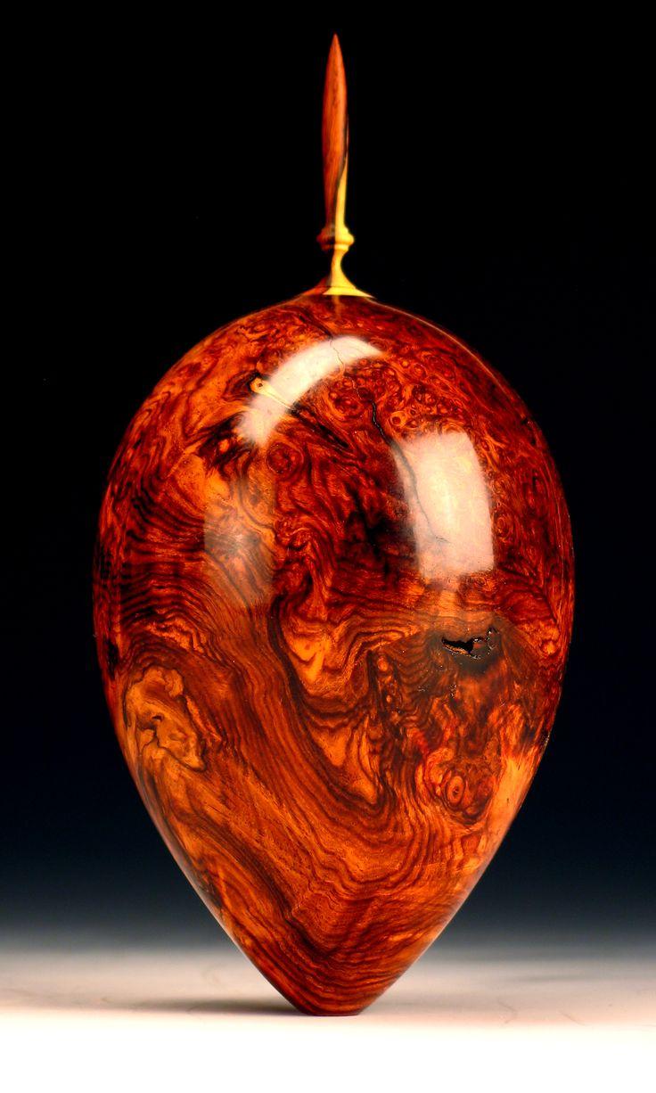 Wood vessel - .Jim Syvertsen