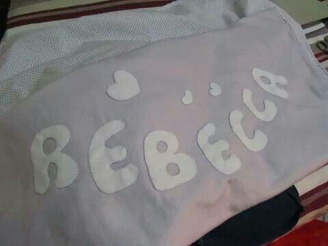Baby blanket..Copertina da lettino in pile e fodera fantasia.