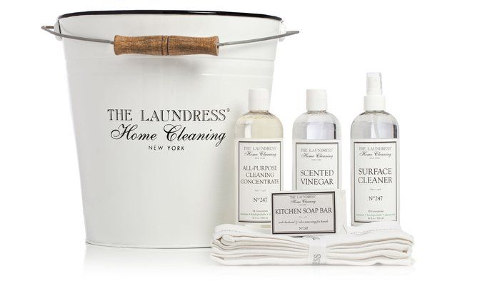 Eco friendly house cleaning goods.