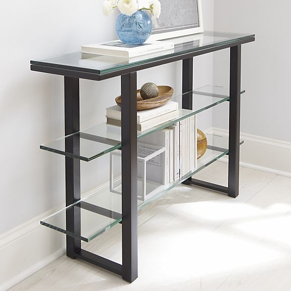 mix console table in tables crate and barrel