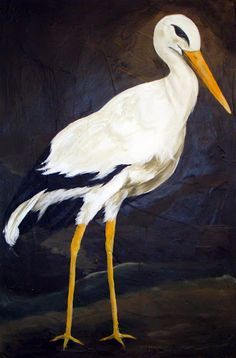 stork paintings - Google Search