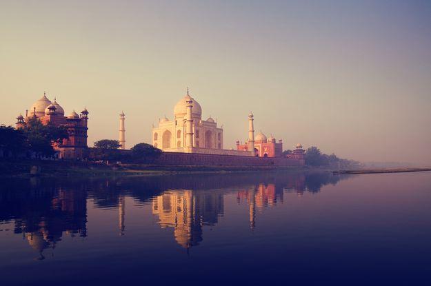 Travel on India // Trip on India //  Lune de miel en Inde, vue sur le Taj Mahal