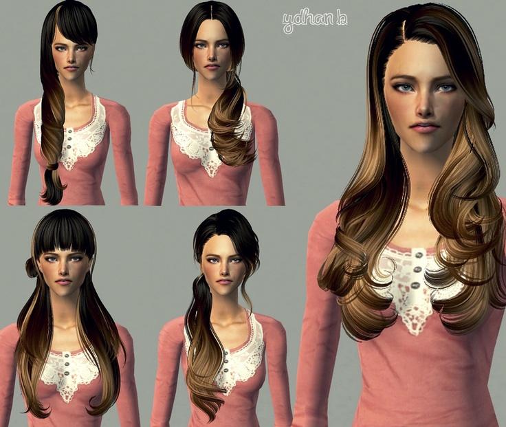 Sims 2 Hairstyles: Hair (Female) On Pinterest