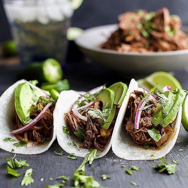 Tacos With Balsamic Braised Short Rib  via @feedfeed on https://thefeedfeed.com/joyfulhealthyeats/tacos-with-balsamic-braised-short-rib